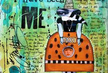 Art Journaling Love: Collage / by Crafty Lou