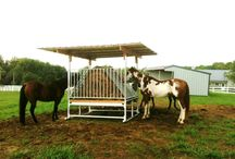 Hay Saver Feeders / Hay Feeders for Livestock that save your hay