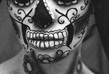 maquillaje dia de los muertos
