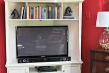 Tv corner units