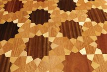 Luxury Hardwood Parquet Floors Inspired in Islamic Art / Floral and Geometric Artistic Parquet introduced in Designer Collections. A unique collection of hardwood floors inspired in Islamic art, featuring Islamic patterns and floral arabesques.