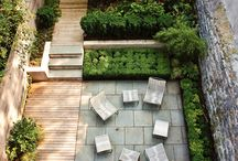 Garden (urban) / inspiratons for courtyard / terrace / garden