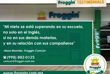 Testimonials / ¡Gracias por tu preferencia! en #Froggin nos esfrozamos día a día para brindarte el mejor sevicio.   Visita: www.froggin.com.mx