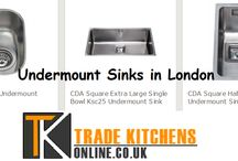 Undermount Sinks in London / In all modern-day kitchens, undermount sinks assume importance. These are the best choice as far as augmenting the degree of elegance remains in deliberation. These sinks are costlier as compared to the normal sinks.
