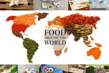 Food around the World / Plan a gourmet trip around the world without leaving your kitchen. With the right cooking utensils and few creative recipes, the world of delicious opportunities is limitless... Best enjoyed with friends and family! Cooking Elements: Sky's the limit! www.villeroyboch.com/FATWPI
