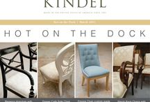 Hot on the Dock / See what is Hot on the Dock at Kindel this month! A peek at a few of our favorites that have come through the factory. / by Kindel Furniture