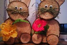 Træ dekoration