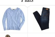 jeans and flats