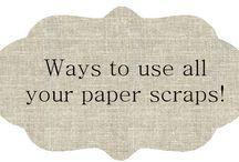 Paper Scrap ideas