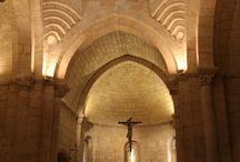 Almazan ( Soria ) / * = Imagen capturada de Internet por estar prohibido hacer fotos en el interior de la iglesia de San Miguel.