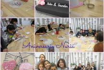 Fiestas aniversario!! / Fiesta Nuria!!