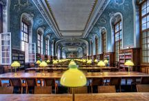 My shot from the Sorbonne Library published by Architectural Digest us.