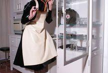 Women in apron