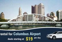 Visit Columbus Airport by Renting a Car / Columbus Airport Car Rental offers car rental service in the city or nearest areas of Columbus.