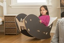 Whale Rocker / Adorable little kids rocking chair. This designer piece of kids furniture is perfect for your little one to relax and enjoy life. The whale chair is the perfect addition to any whale nursery. / by Sprout Modern Kids Furniture