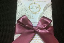Convites Clássicos, modernos, tradicionais ou exclusivos! Kits personalizados! / Convites para todas as ocasiões e personalizações!