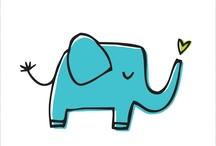 Elephants / by Laura Drangmeister