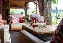 Aspen Outdoors / Outdoor spaces and furnishings define summer in the mountains.