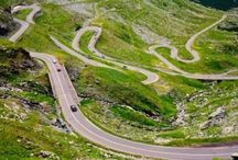 Carretera Transfagarasan en Rumania