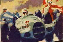 Vintage Posters - German GP