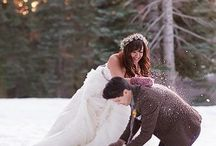 Mountain Wedding / Find your best vintage fur, a cool mountain terrain, and a lux resort host you and your love to plan a romantic wedding in the mountains.  / by Minted