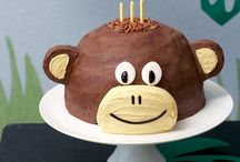 Monkey's 1st birthday ideas