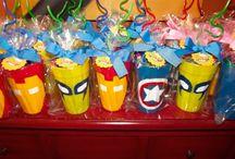 Festa super herói