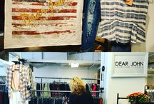 |RETAIL DETAILS| / Pictures of display ideas and all that Dear John Denim sees while at the apparel markets across the United States.