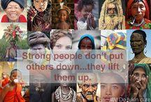 Culturas, religiones y sociedades del mundo / La riqueza de la diversidad, donde la tolerancia es la clave para aprender a valorar.