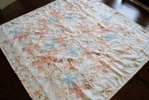 Pillows Quilts and Table Runners