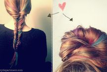 Dream Hair / Hair inspiration, hair styles, hair colour inspiration