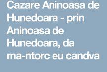 Cazare Aninoasa de Hunedoara