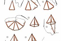 DIY geometrische hangers - inspiratie