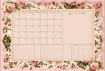 Calendars Planning note