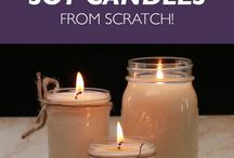 DIY CANDLES / Make candles for your home or for selling it