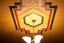 art deco ceilings