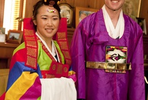 traditional, korean ceremony wedding / by Allyson Magda