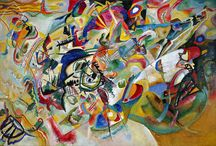Painting. Wassily Kandinsky
