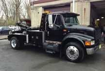 Used 1999 International 4700 for Sale ($25,000) at Elmwood Park, NJ / Make:  International, Model:  4700, Year:  1999, Body Style:  Truck, Exterior Color: Black, Interior Color: Gray,  Doors: Two Door, Vehicle Condition: Good , Mileage:207,000 mi, Engine: 6 Cylinder, Transmission: Manual, Fuel: Diesel.   Contact: 201-206-2799   Car ID (56558)