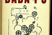 DADA futur / le mouvement Dada, source de mises en scène pour une représentation du futur. « Dada n'était pas seulement l'absurde, pas seulement une blague. Dada était l'expression d'une très forte douleur des adolescents nés pendant la guerre de 1914. Ce que nous voulions, c'était faire table rase des valeurs en cours, mais au profit justement des valeurs humaines les plus hautes ».