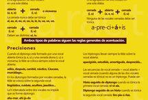 Reglas de ortografía y gramática / Para escribir con corrección.