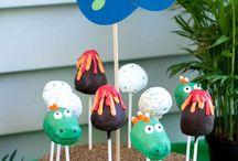 Dinosaur Kids Birthday Theme