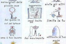 Amo la lingua italiana