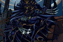 Dark claw / Wolverine batman Logan bruce