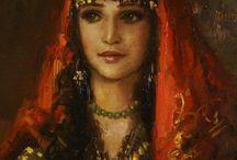 portrait femme berbère