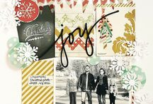 Christmas pages / Scrapbooking
