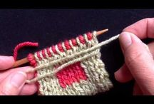 KNITTING DOUBLE