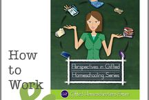 Work at home, homeschooling moms
