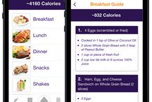 Eat 2 Win Challenge for Athletes Mobile App