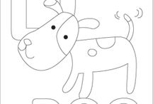coloring pages for kiddos / by Mitzi James